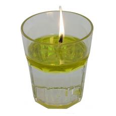 candela ecologica in funzione