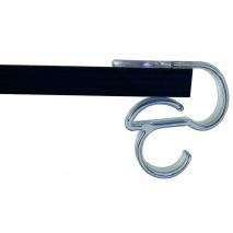 Fermatovaglia in policarbonato con gancio borsa per tavoli