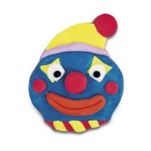 Demo stampino tagliabiscotti faccia clown inox