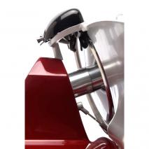 Affettatrice Berkel mod. RED 22 dettaglio spazio lama motore per un pulizia rapida e accurata