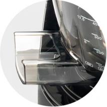 Kuvings Evo820 nero opaco facile rimozione scarti