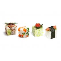 Composizioni di riso con il Rice Cube