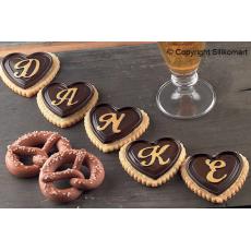 Realizzazioni con gli stampi in silicone Cookie ABC by Silikomart