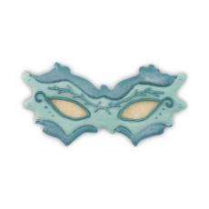 Demo 2 tagliabiscotti maschera carnevale inox