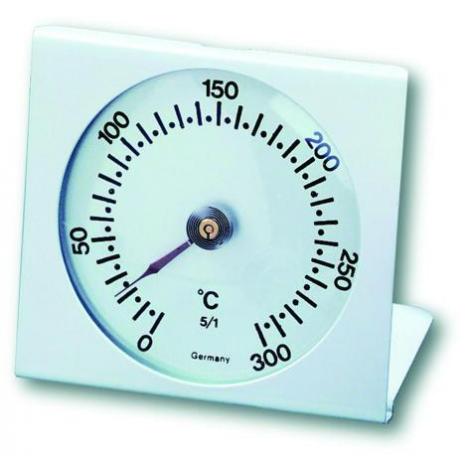TERMOMETRO PER FORNO ALLUMINIO CM.7x7,5 0-300° TFA