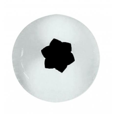 BOCCHETTA INOX A STELLA MM.10