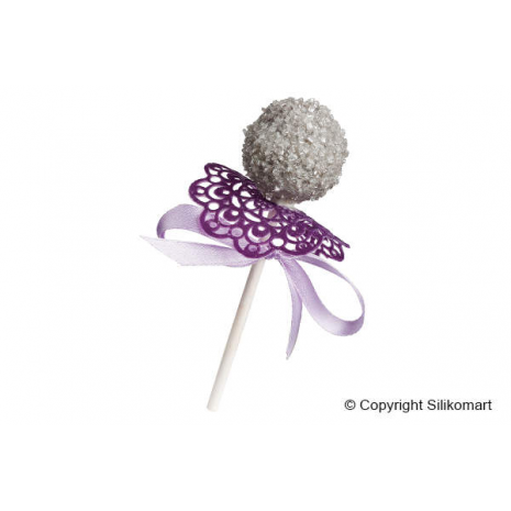 Cake pops realizzato con wonder pops by Silikomart