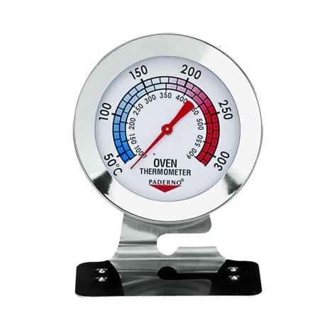 TERMOMETRO PER FORNO INOX 38-316° SCALA 10°C