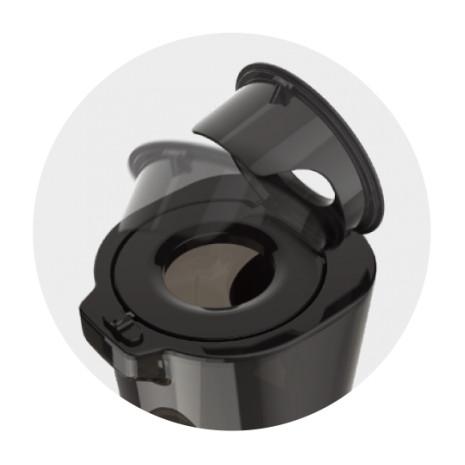 Kuvings Evo820 nero opaco sistema sicuro inserimento alimenti